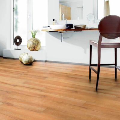Piso Vinílico SPC Golden Oak 18x122cm