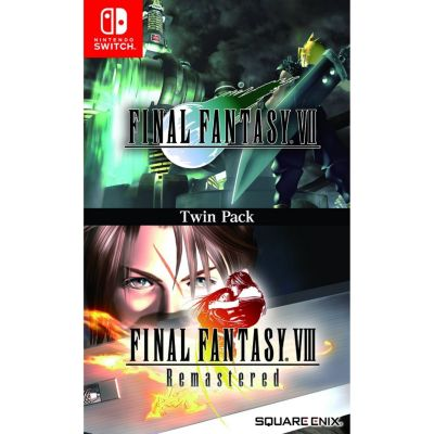 Videojuego Nintendo Switch Final Fantasy Vii Y Viii Twin Pack