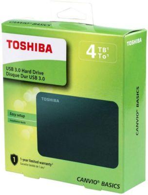 Disco Duro Externo Toshiba 4TB Usb 3.0