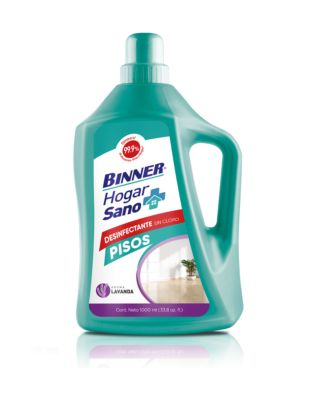Desinfectante De Pisos Hogar Sano Lavanda 1L