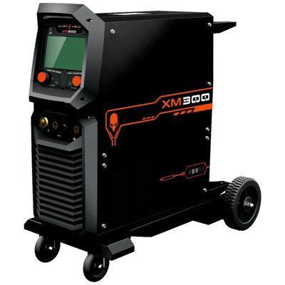 """Soldadora Inverter 300A MIG/TIG/MMA LCD 7"""" XM300"""