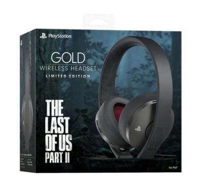 Audifonos Gold Stereo Headset The Last Of Us 2  Ps4