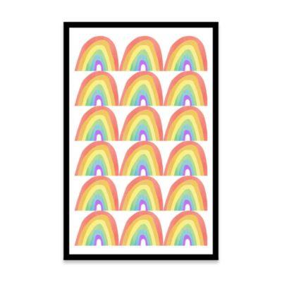Cuadro Arcoírises 20x30 Bastidor
