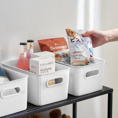 Set x3 Canastos Plástico Blanco