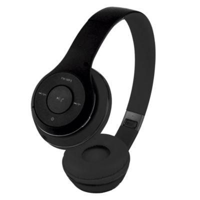 Audífono BT V3.0 HV-H2575BT FM MP3 Negro