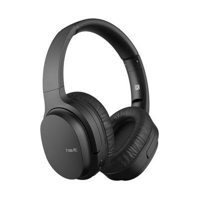 Audífono BT V5.0 i62 90° gir. FM/TF Negro