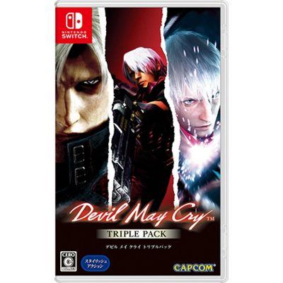 Videojuego Nintendo Switch Devil May Cry Triple Pack