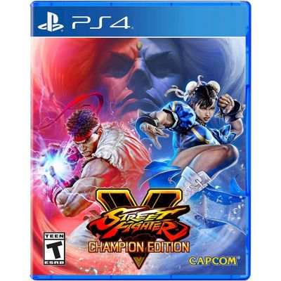 Videojuego PS4 Street Fighter V Champion Edition