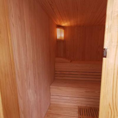Sauna Portable Madera Pinode 150x150cm