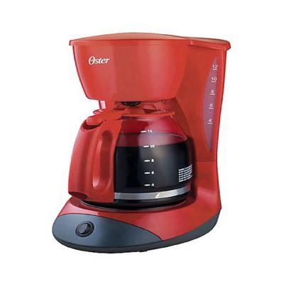 Cafetera Eléctrica 4 Tazas Rojo