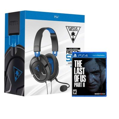Audífono 50P + Videojuego PS4 The Last Of Us II