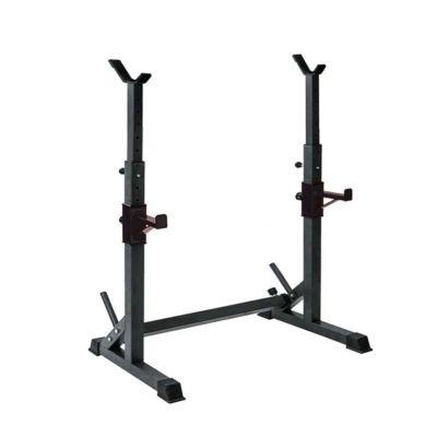 Soporte de barra rack squat graduable