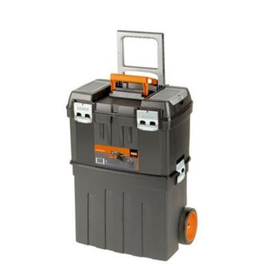 Caja Plastica C/Ruedas 470x290x630 mm