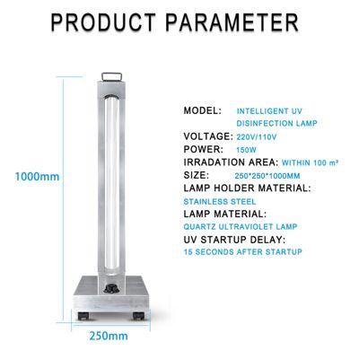 Lampara UV 150W con Purificador de Ozono