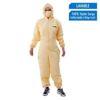 Overol Lavable Sarga Reforzada Amarillo Talla L