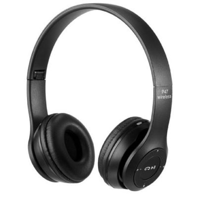 Auriculares Wireless Bluetooth P47 Negro