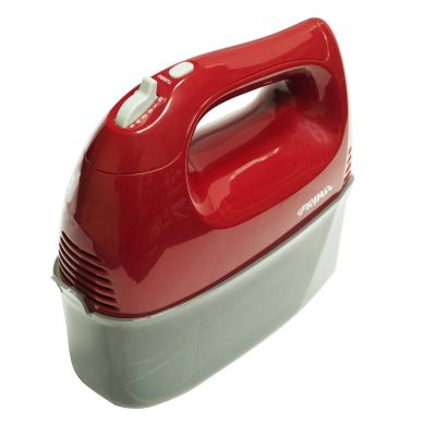 Batidora 5 Velocidades 300W Rojo