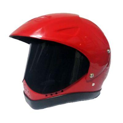 Casco de Moto Integral Rinoceronte en Rojo