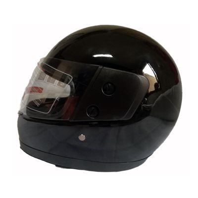 Casco de Moto Integral Basic Negro Brillo