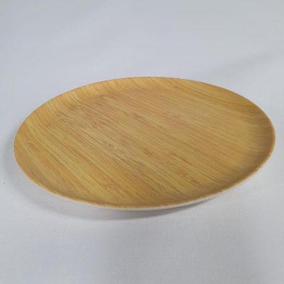 Plato de Fibra de Bambú y Fécula de Maíz