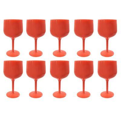 Set de 10 Copas de Gin Coral