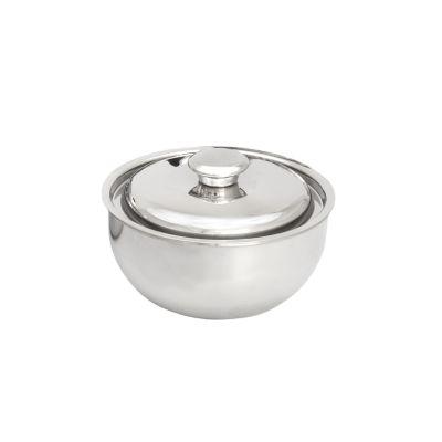 Bowl de Acero Inoxidable con Tapa de Acero N°16