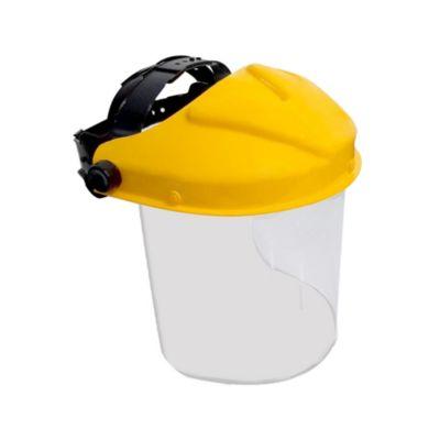 Protector Facial con Semi Casco