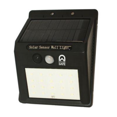 Lámpara Solar Led con Sensor para Exterior