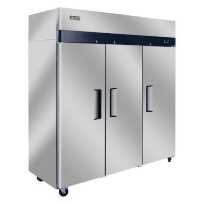 Congeladora Vertical 1500L Acero Inoxidable