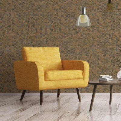 Mosaico Mini Hexagon Bronze 30.6x29cm