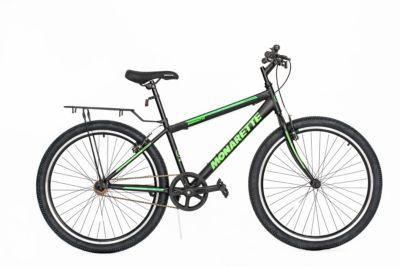 "Bicicleta Monarette Master Bike Aro 26"" Negro Verde"