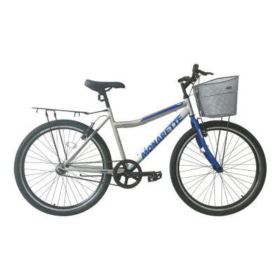"Bicicleta Monarette Master City Aro 26"" Gris Azul"