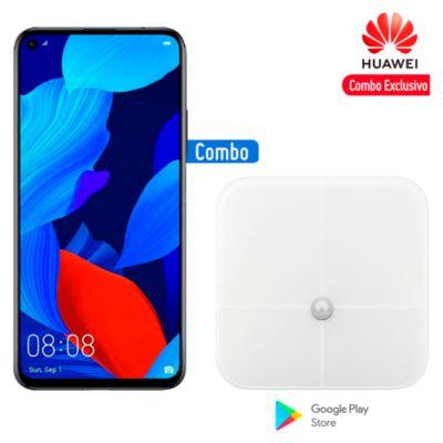 "Huawei Nova 5T 6.2"" 128GB 6GB Negro + Balanza Smart Scale"