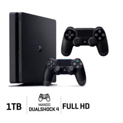 Consola Playstaton 4 Slim 1Tb + Mando Negro