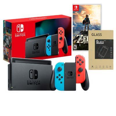 Consola Nintendo Switch + Videojuego Zelda Botw + Mica
