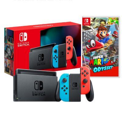 Consola Nintendo Switch + Videojuego Super Mario Odyssey