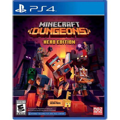 Videojuego para PS4 Minecraft Dungeons Hero Edition