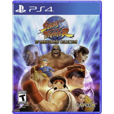 Videojuego para PS4 Street Fighter 30 Anniversary Collection