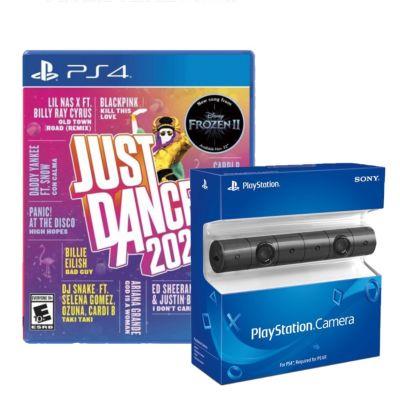 Combo Videojuego para PS4 Just Dance 2020 + Cámara