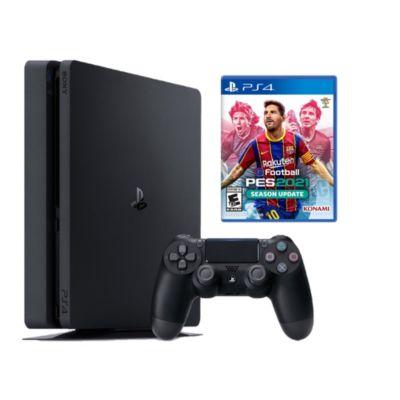 Consola PS4 Slim 1Tb + Videojuego PES2021