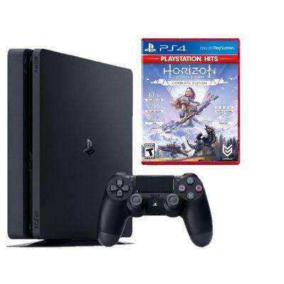Consola PS4 Slim 1Tb + Videojuego Horizon Zero Dawn Complete