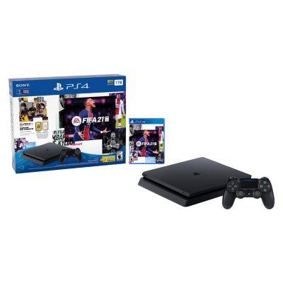 Consola PS4 Slim 1TB + Fifa 2021