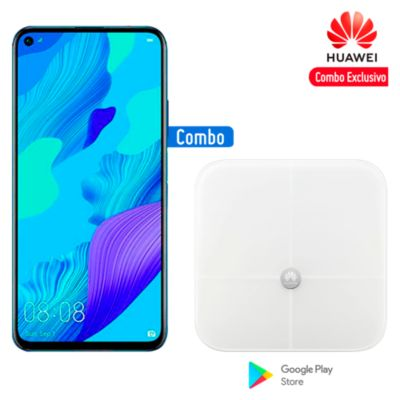 "Huawei Nova 5T 6.2"" 128GB 6GB Azul + Balanza Smart Scale"