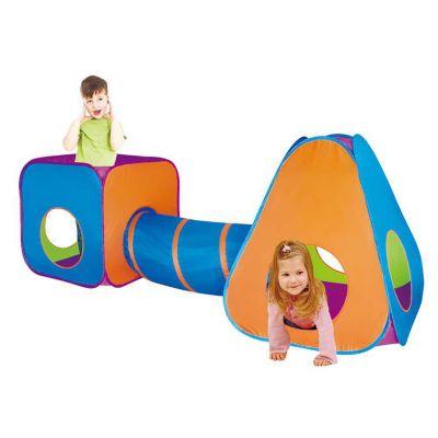 Cubo y Carpa Armable con Tunel