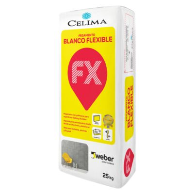 Pegamento Flexible Blanco 25kg