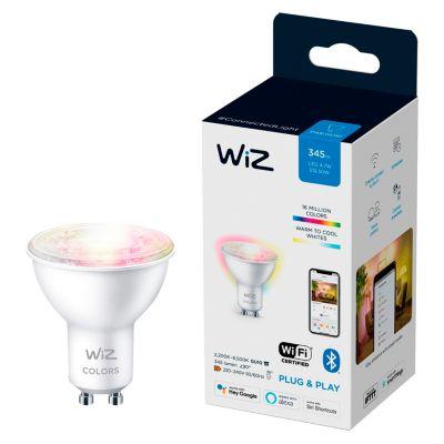 Foco Led Wiz Wifi GU10 4.9W Luz Varios Colores Ajustable