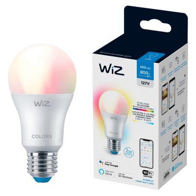 Foco Led Wiz Wifi A60 9W Luz Varios Colores Ajustable