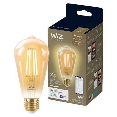 Foco Led Filament Wiz Wifi ST64 E27 6.9W Luz Calida Ajustable