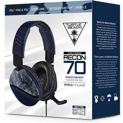 Audífono Recon 70 Camuflado Azul