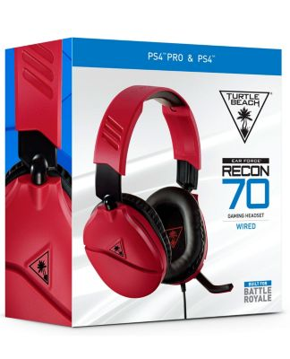 Audífono Recon 70 Rojo 2